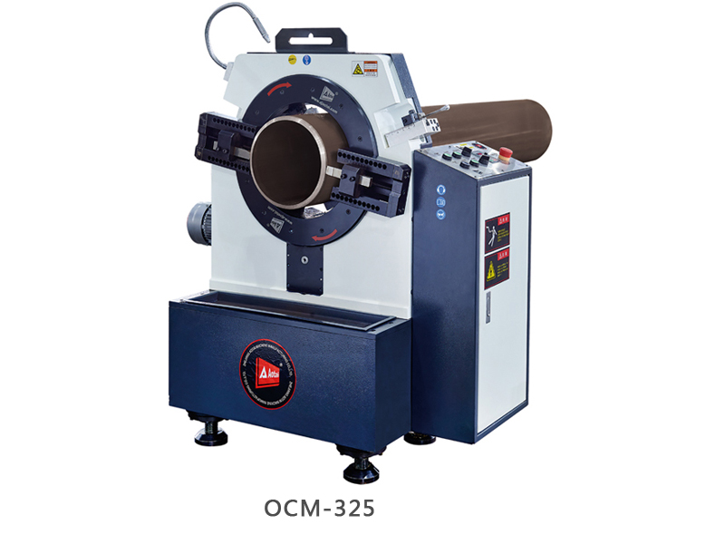 OCM Stationary pipe cutting and beveling machine